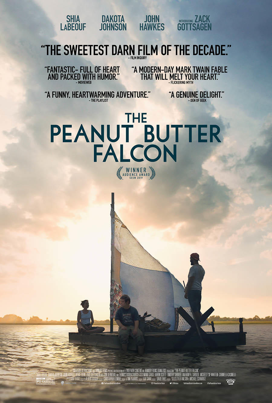 Image result for peanut butter falcon movie poster