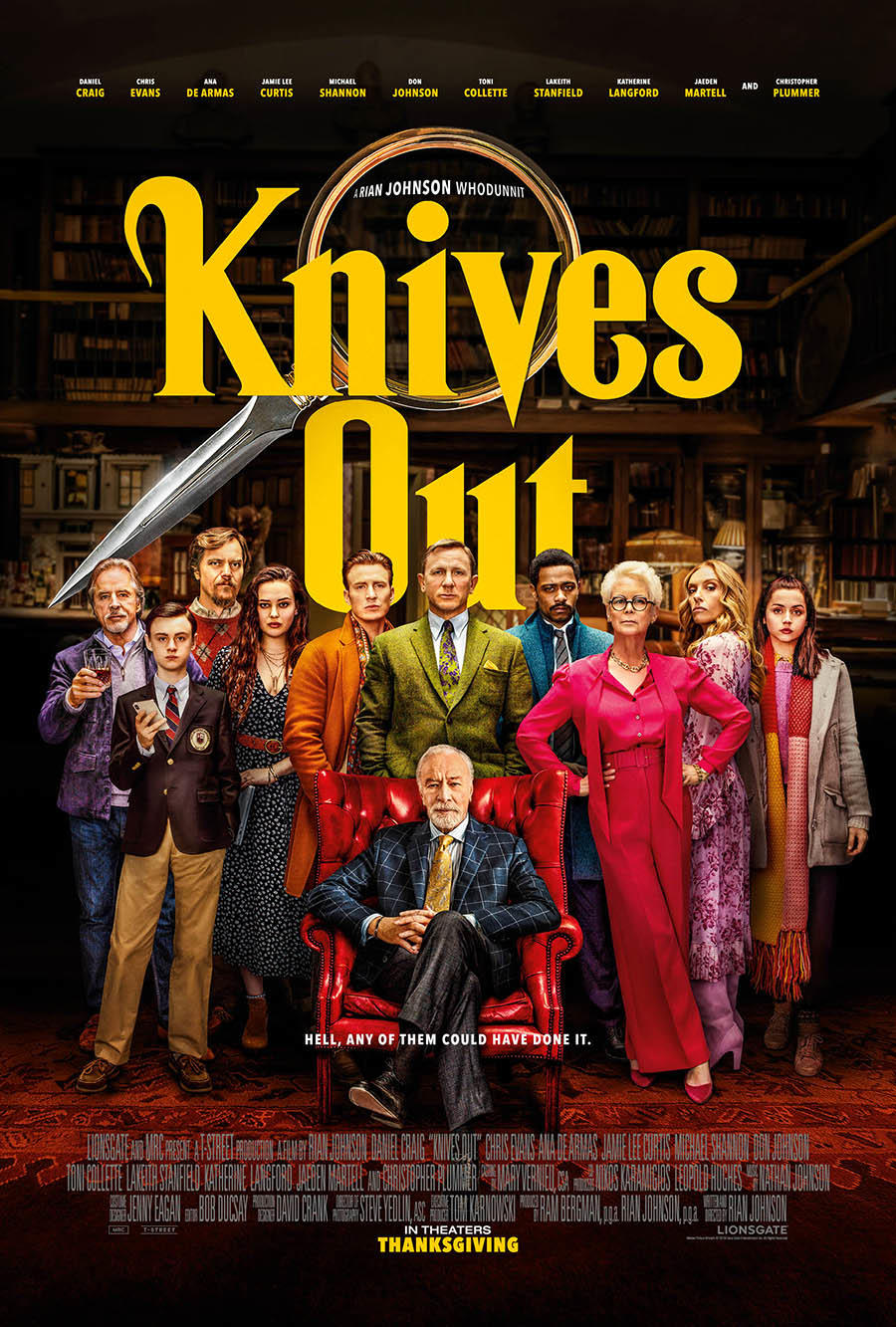 Knives Out Times Movie Tickets Showtimes Fandango