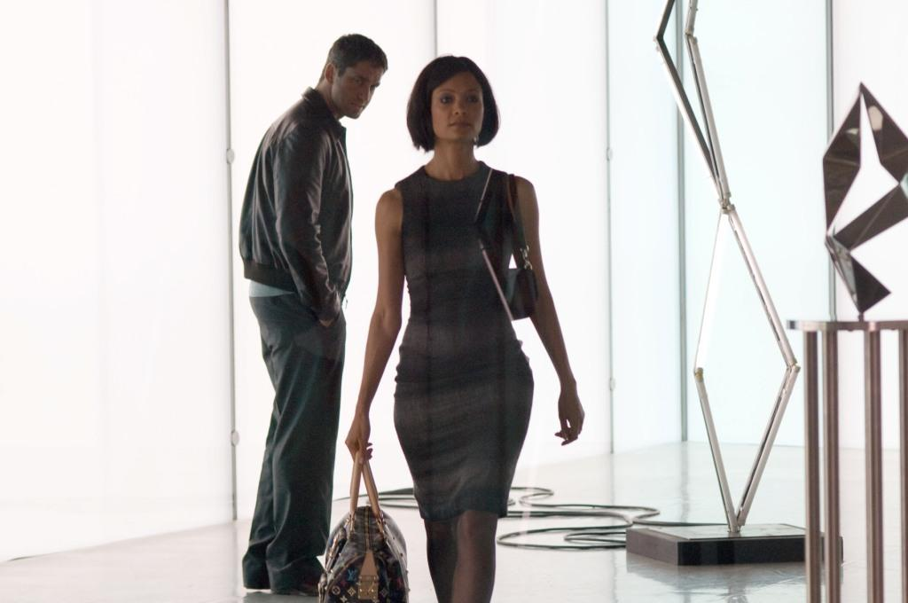 Gerard Butler as One Two and Thandie Newton as Stella in