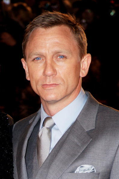 Daniel Craig at the European premiere of