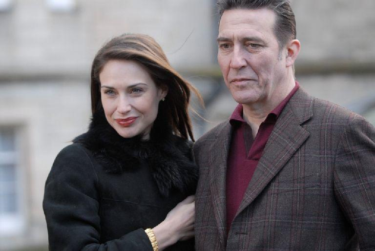 Claire Forlani and Ciaran Hinds in