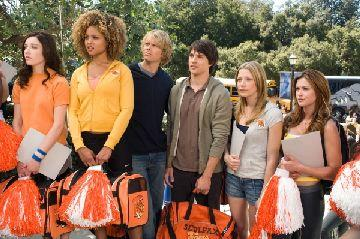 Margo Harshman, Hayley Marie Norman, Eric Christian Olsen, Nicholas D'Agosto, Sarah Roemer and Danneel Harris in