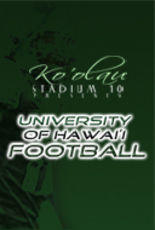 Poster art for University of Hawaii Football.