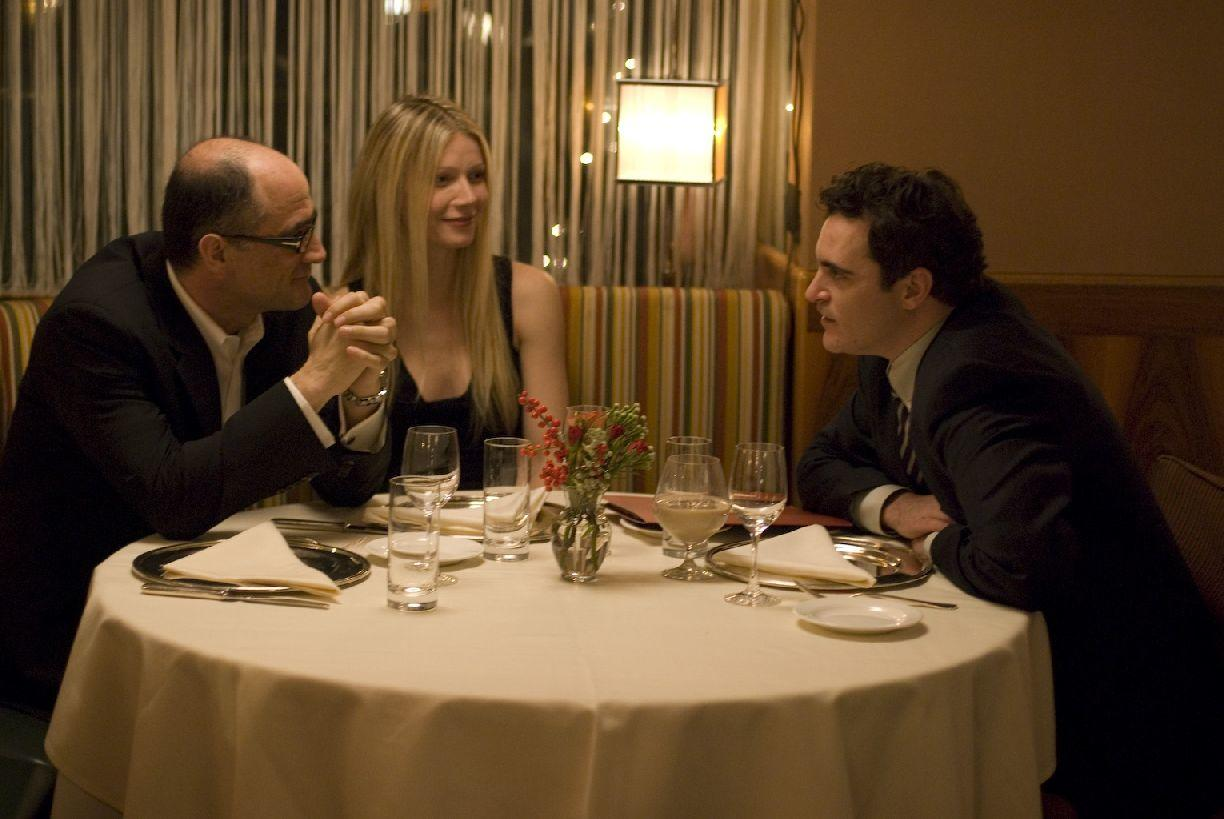 Elias Koteas, Gwyneth Paltrow and Joaquin Phoenix in