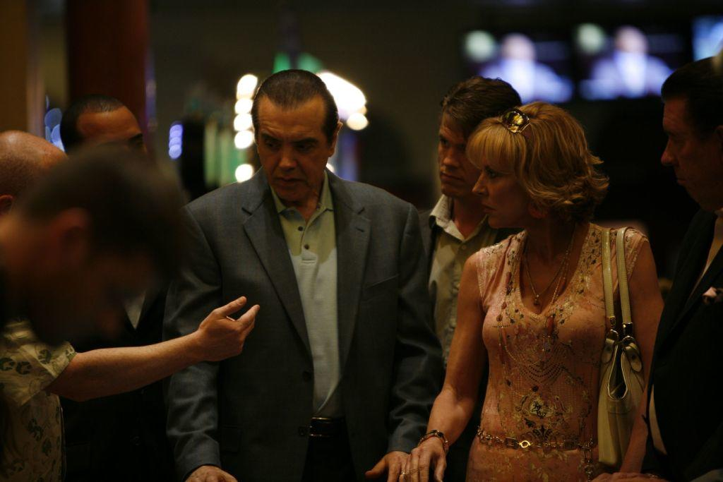 Chazz Palminteri as Yonkers Joe and Christine Lahti as Janice in