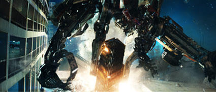 "Wheelbot joins in the battle in ""Transformers: Revenge of the Fallen."""