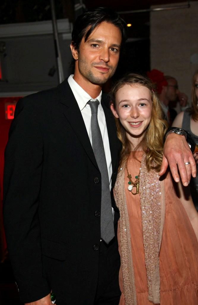Jason Behr and India Ennenga at the after party of the New York premiere of