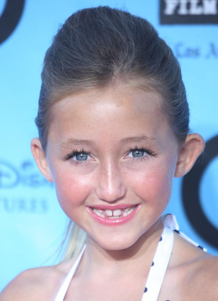 Noah Cyrus at the California premiere of