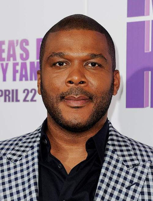 Tyler Perry at the California screening of