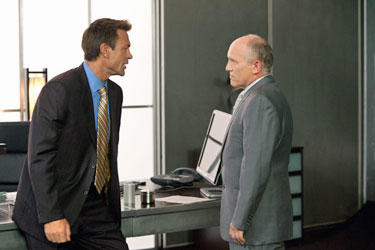 Grant Bowler as Henry Rearden and Armin Shimerman as Dr. Potter in