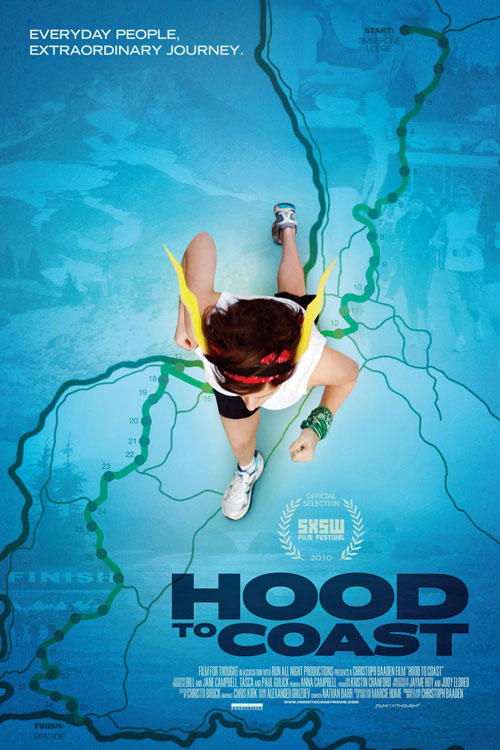 Poster art for Hood To Coast.