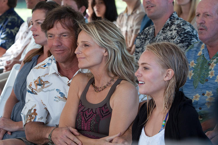 Dennis Quaid, Helen Hunt and AnnaSophia Robb in