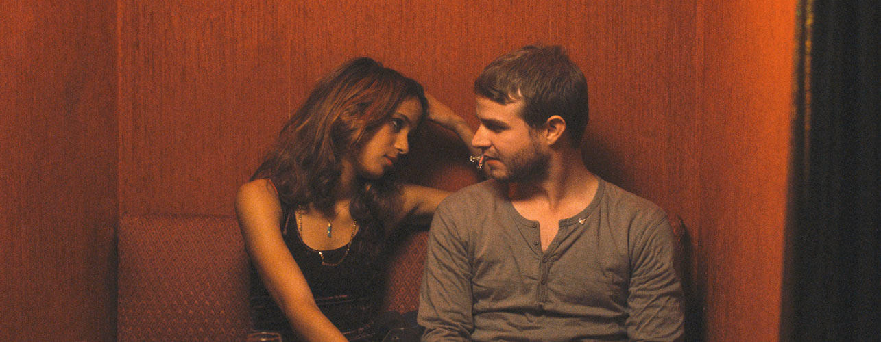 Mati Diop and Brady Corbet in
