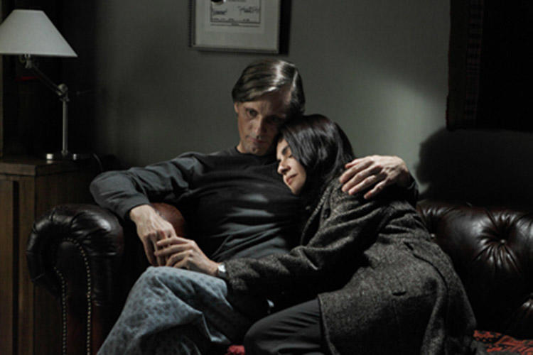 Viggo Mortensen and Soledad Villamil in