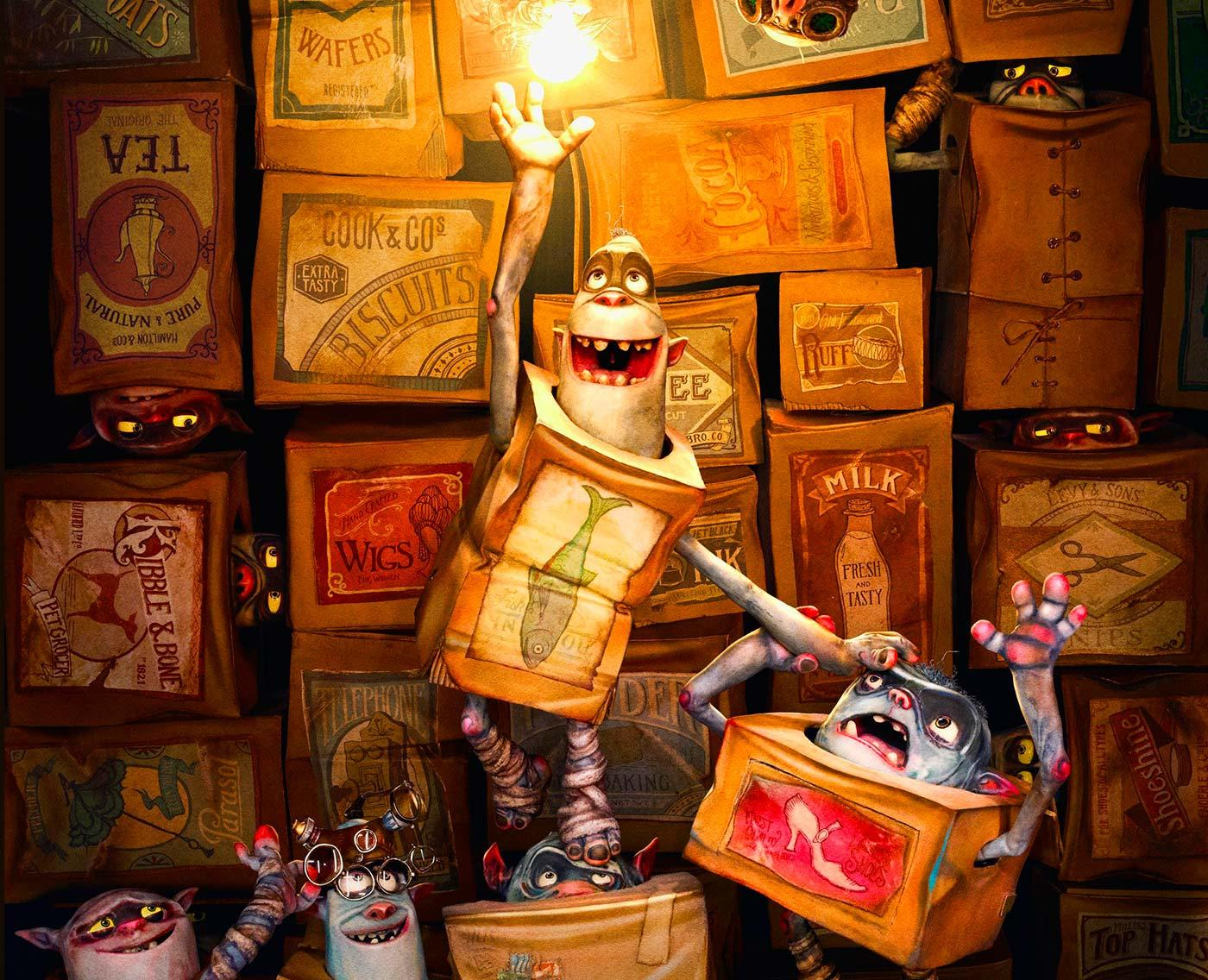 A scene from The Boxtrolls
