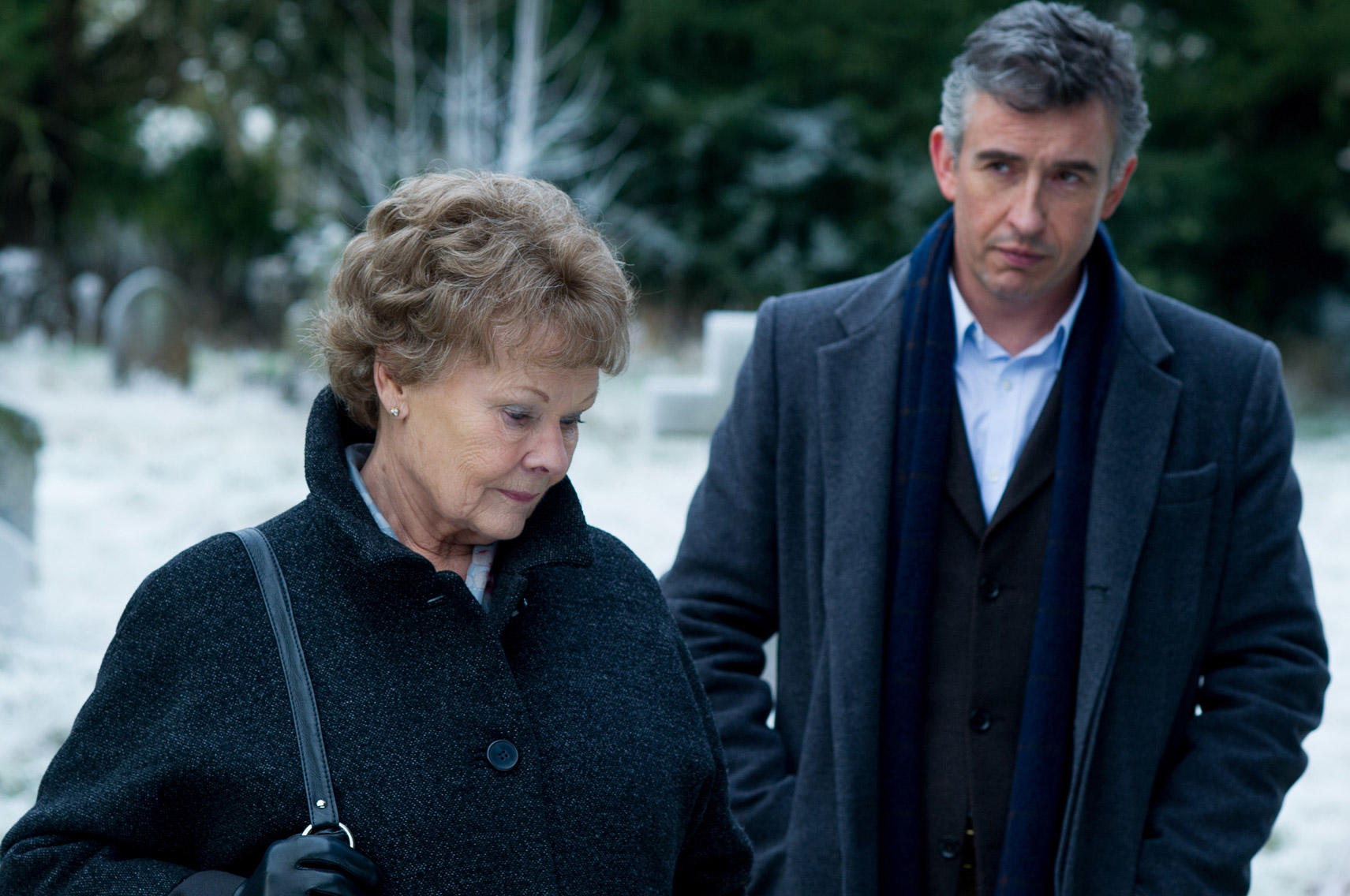 Judi Dench and Steve Coogan in