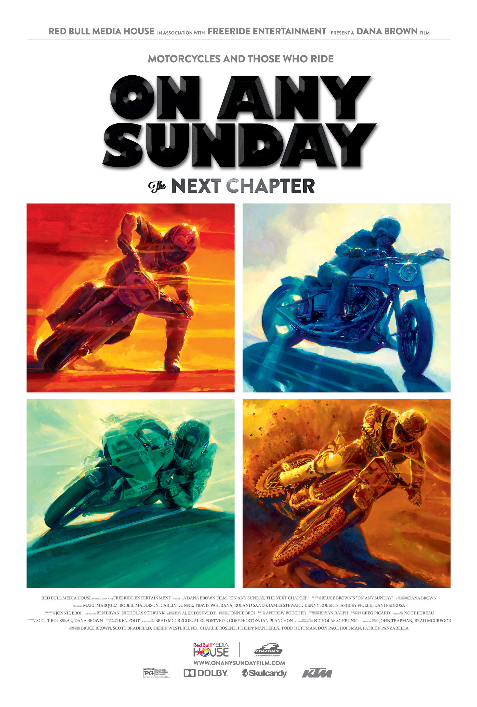 On Any Sunday: The Next Chapter poster art