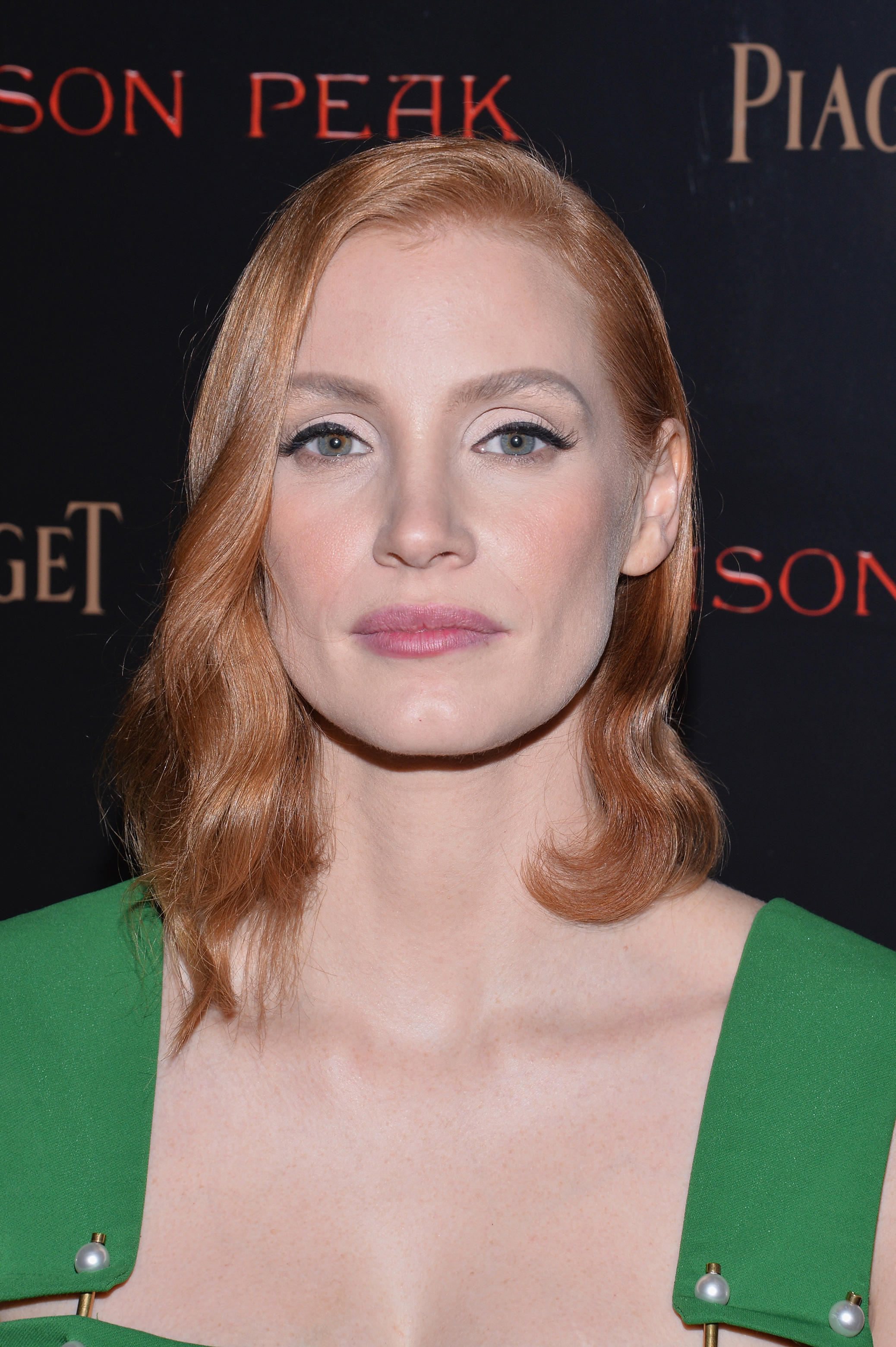 Check out the cast of the New York premiere of 'Crimson Peak'