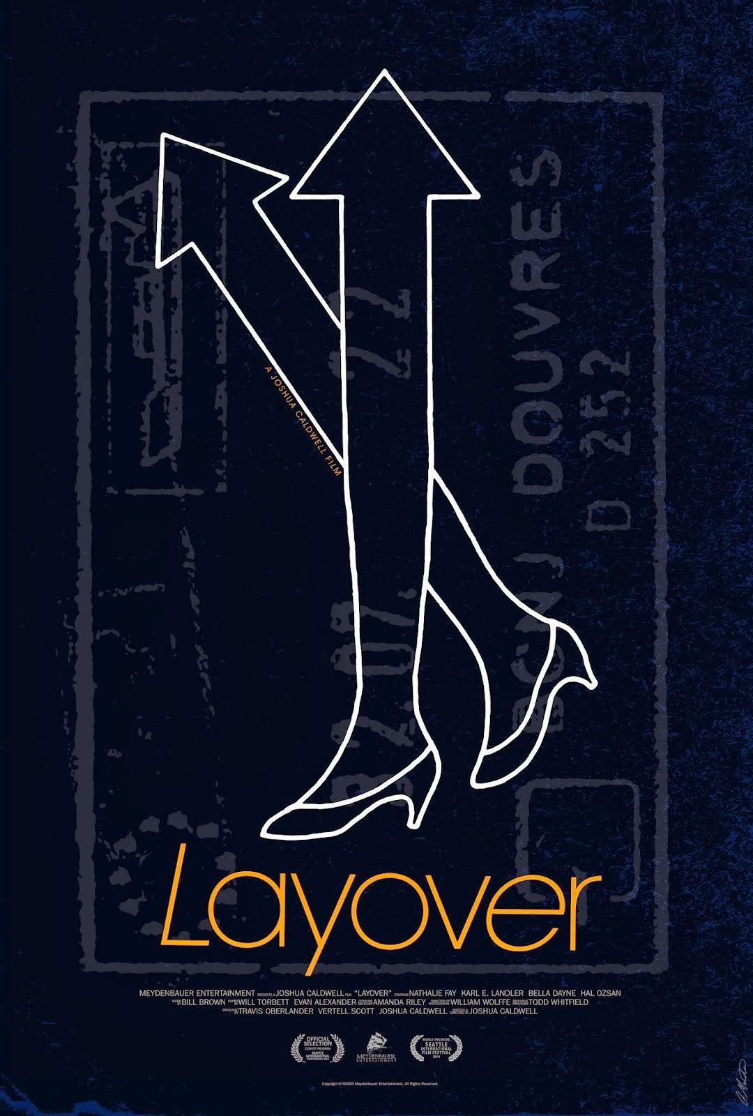 Layover poster art