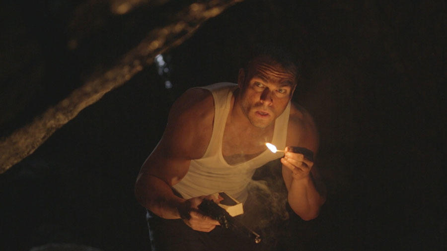 "Shawn Roberts as Will in the horror film ""FEED THE GODS"" an XLrator Media release."