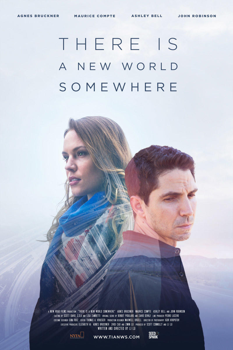 There is a New World Somewhere poster art