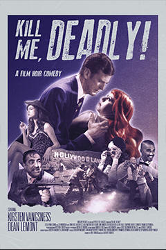 Kill Me Deadly poster art
