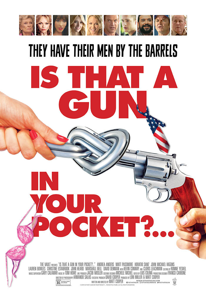 Is That a Gun in Your Pocket poster art