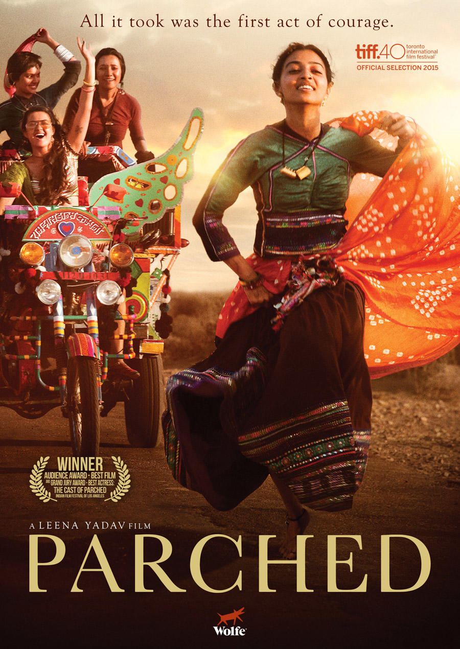 Parched poster art
