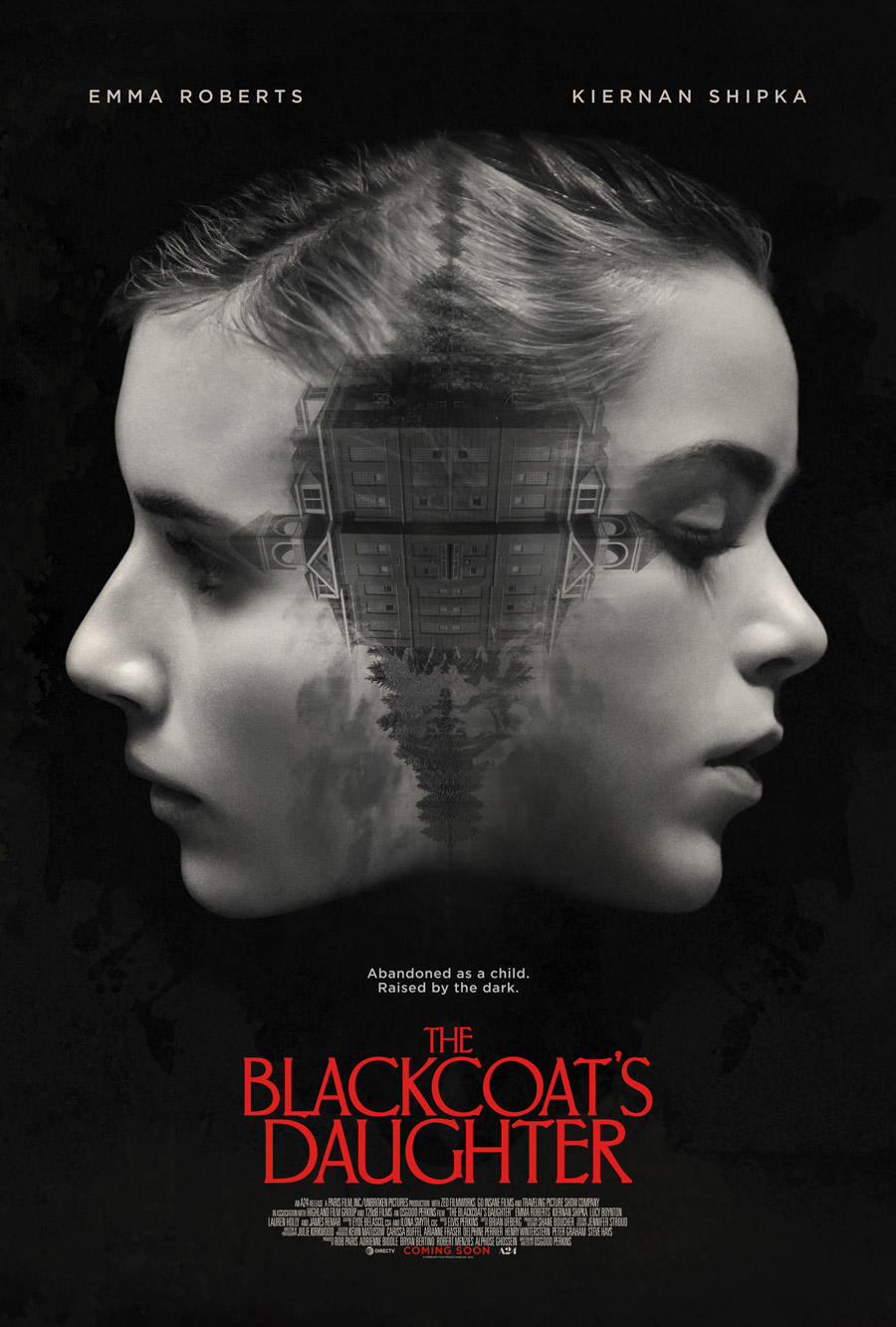 The Blackcoat's Daughter poster art