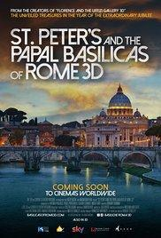 St. Peter's and the Papal Basilicas of Rome 3D poster