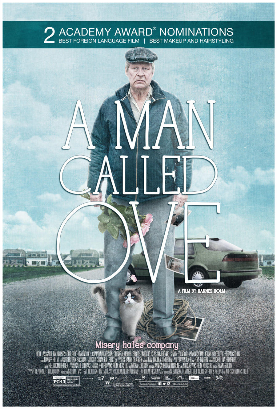 A Man Called Ove poster art