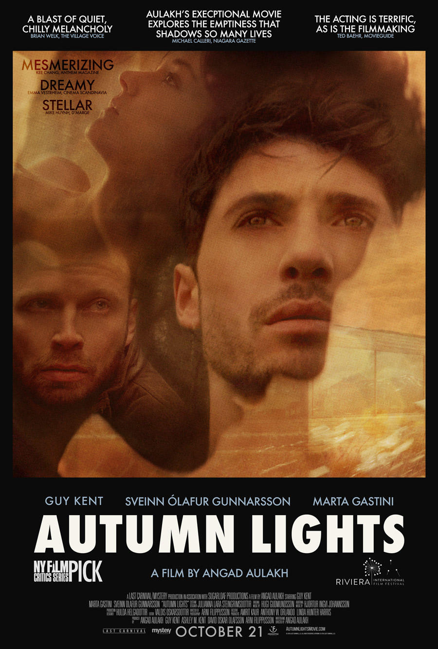 Autumn Lights poster art