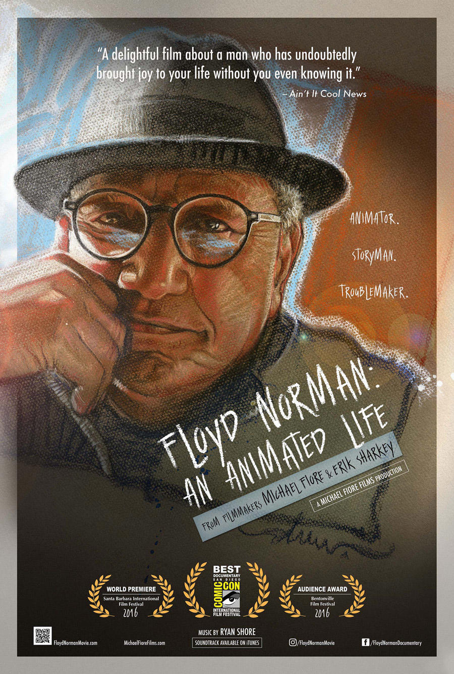 Floyd Norman: An Animated Life poster art