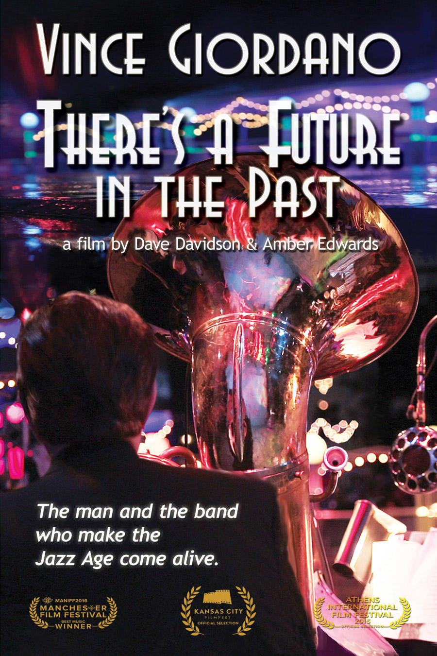 Vince Giordano: There's a Future in the Past poster art
