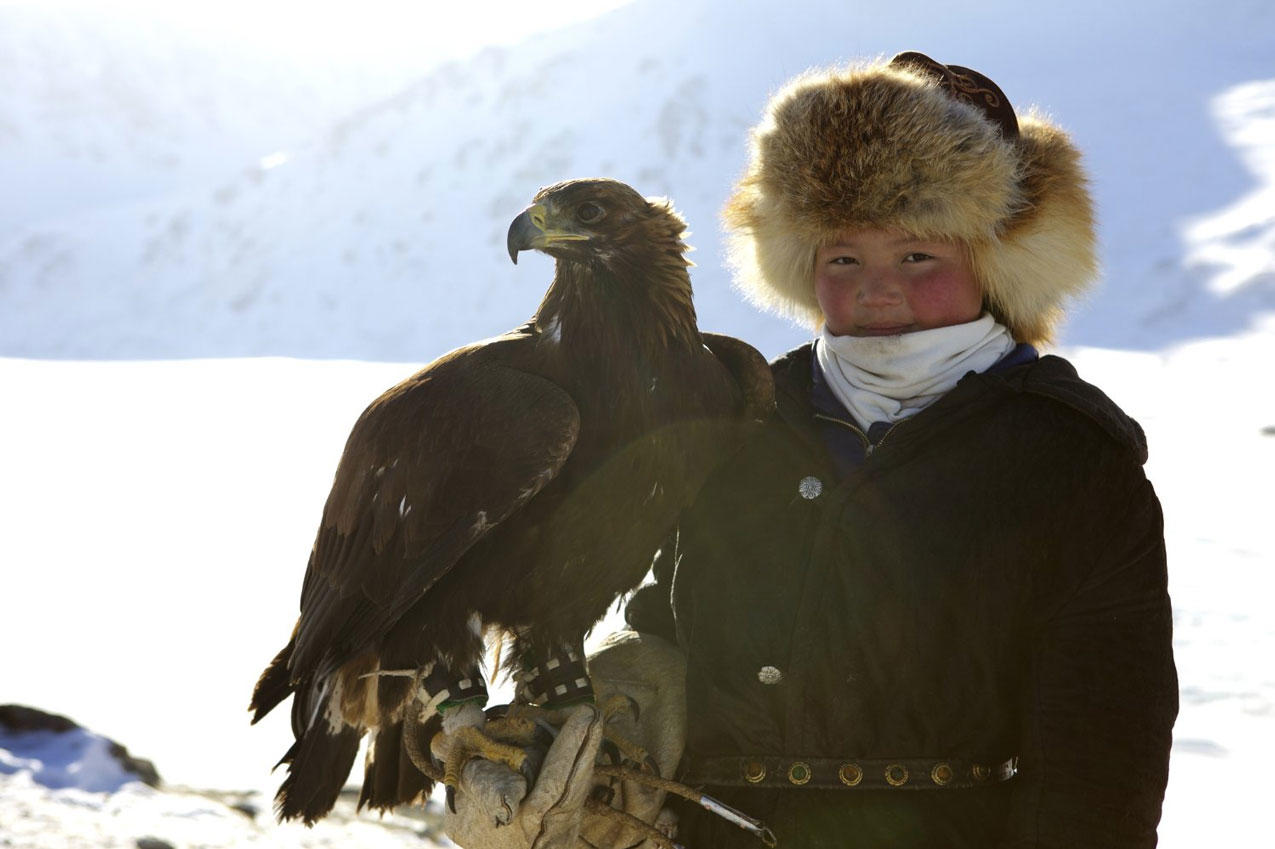 Check out the movie photos of 'The Eagle Huntress'