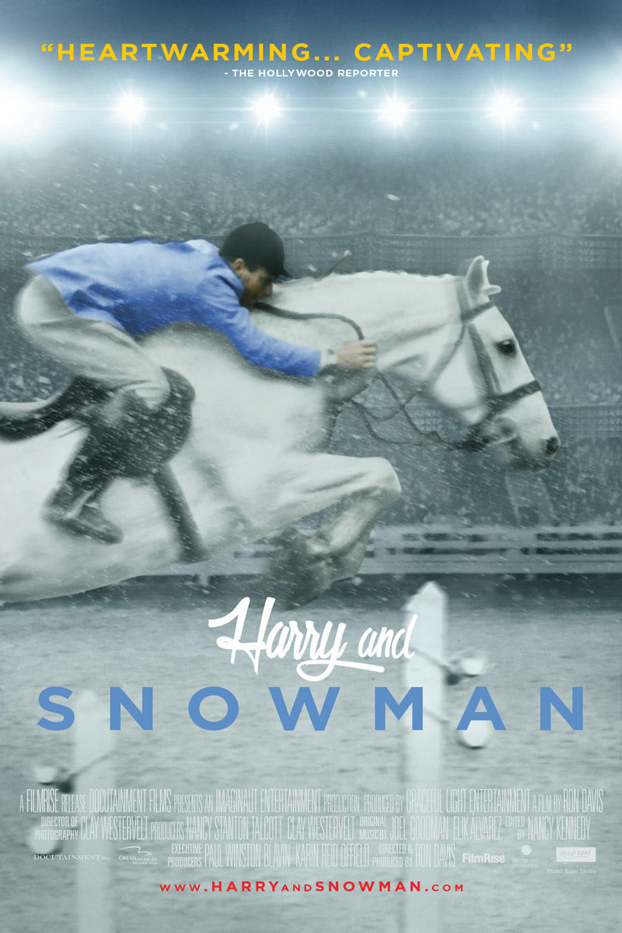 Harry and Snowman poster art