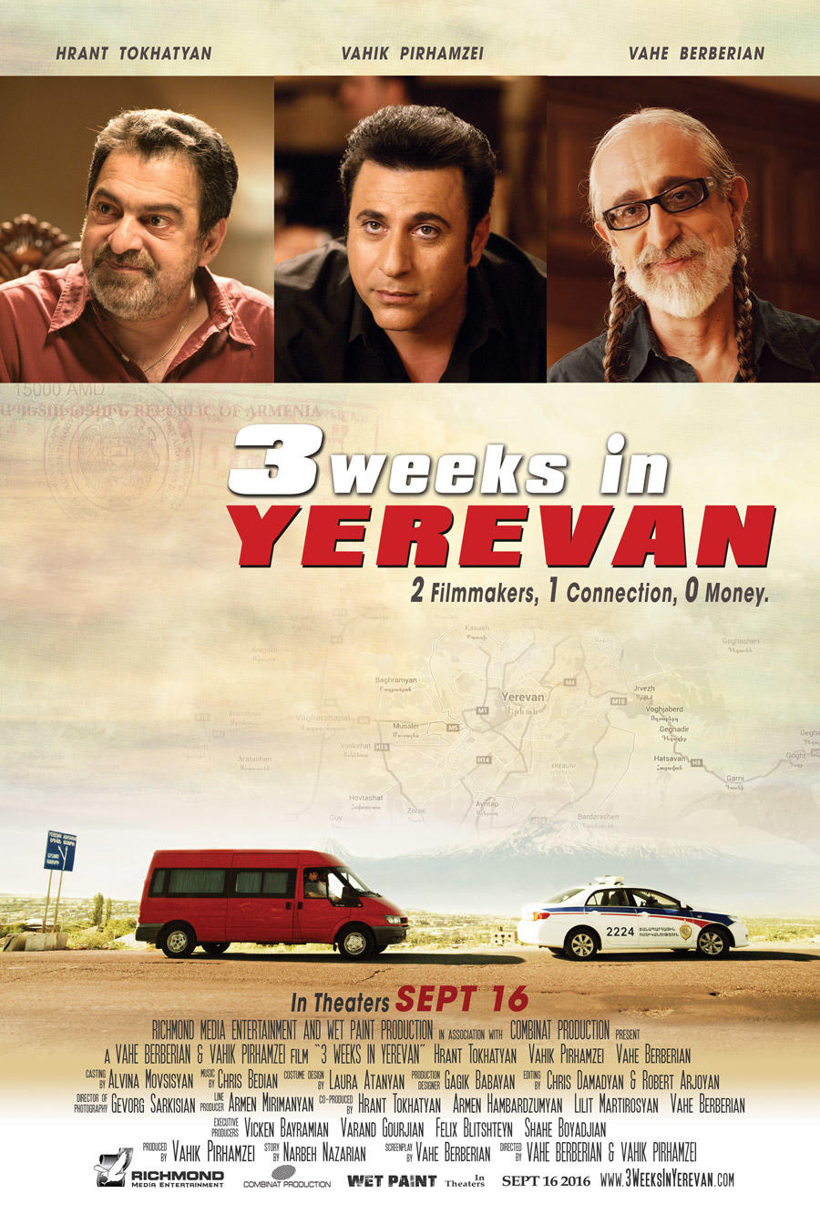 3 Weeks in Yerevan poster art