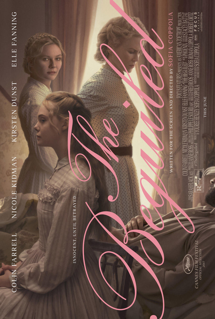 The Beguiled poster art