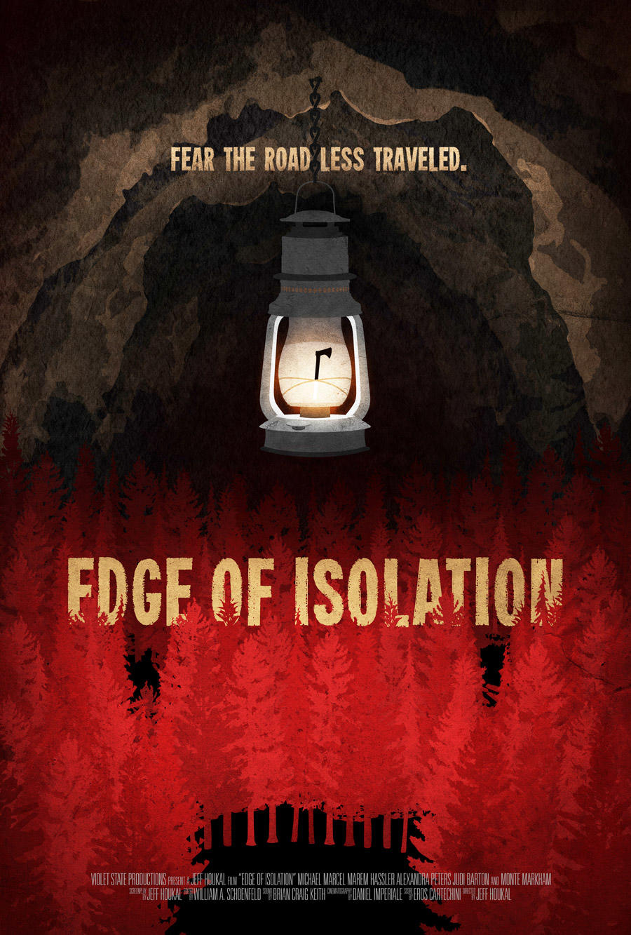 Edge of Isolation poster art