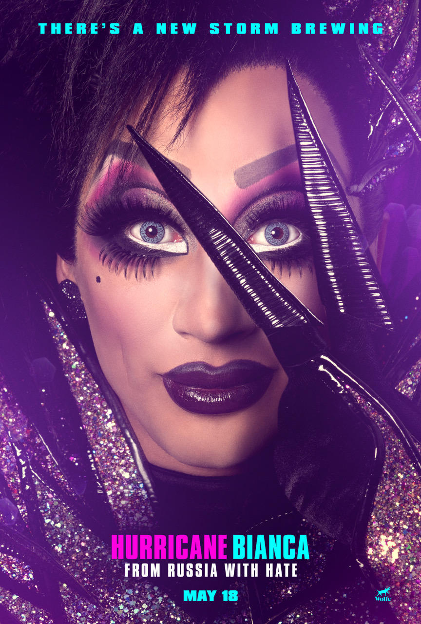 Hurricane Bianca: From Russia With Hate poster art