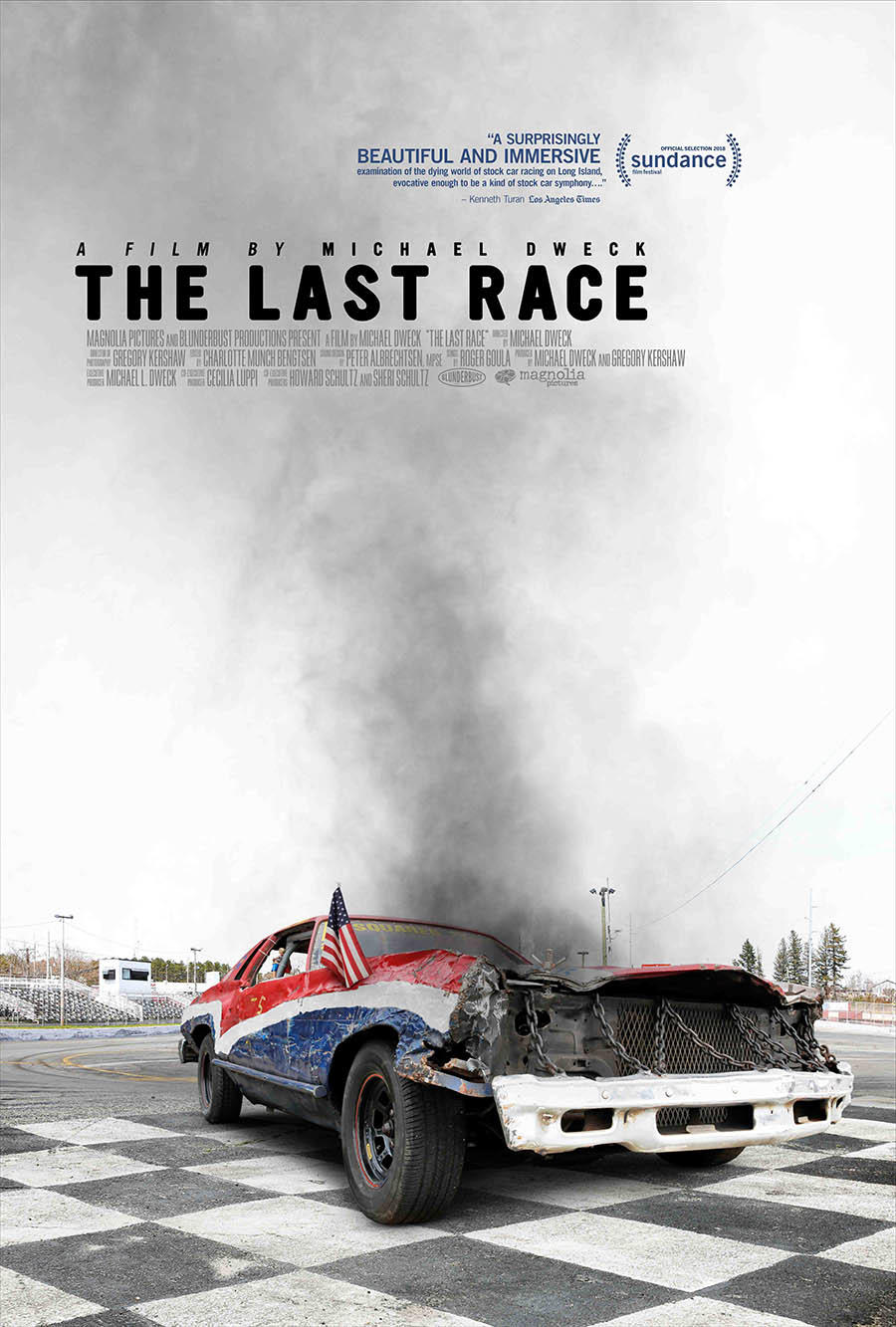 The Last Race poster art