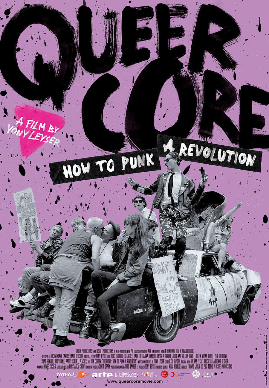 Queercore: How to Punk a Revolution poster art