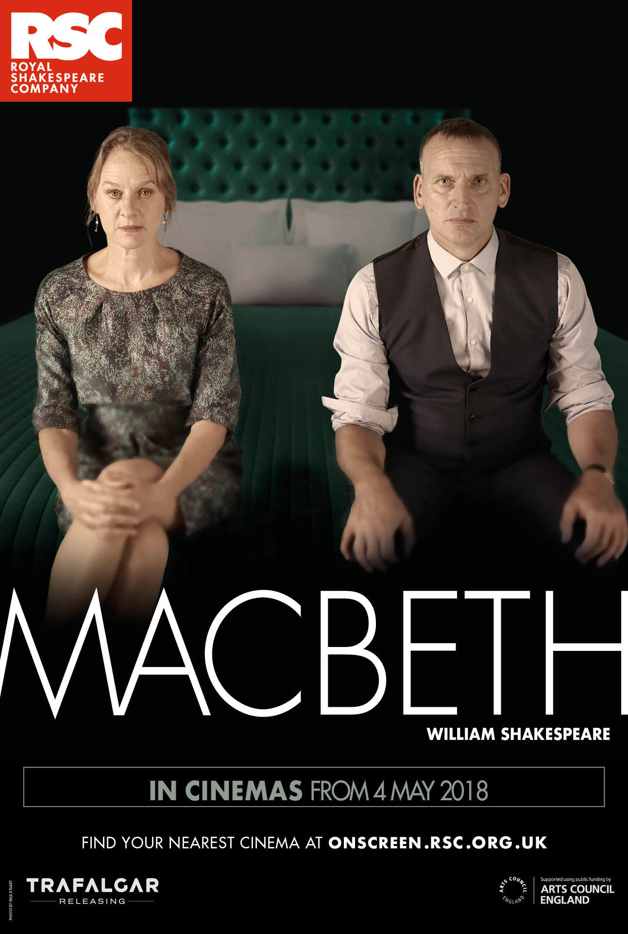 Royal Shakespeare Company: Macbeth poster art