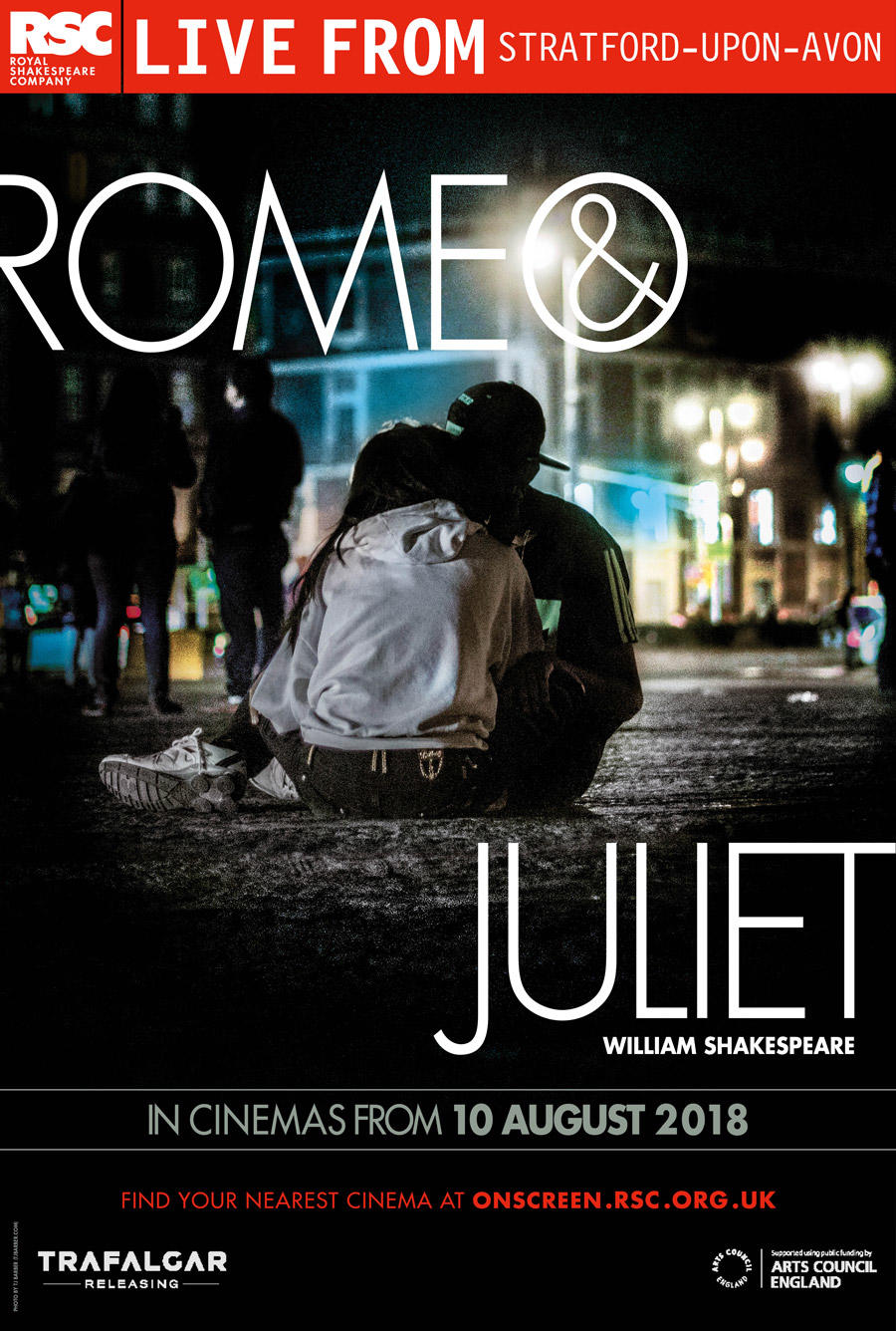 Royal Shakespeare Company: Romeo & Juliet poster art