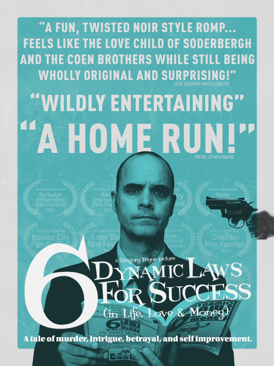 6 Dynamic Laws for Success (In Life, Love & Money) poster art