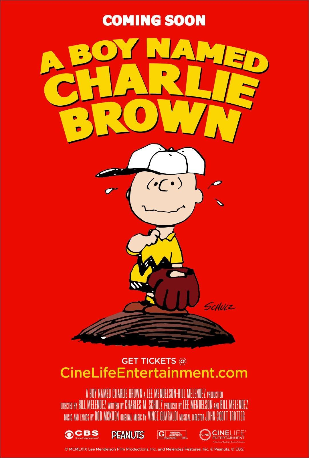 A Boy Named Charlie Brown poster art
