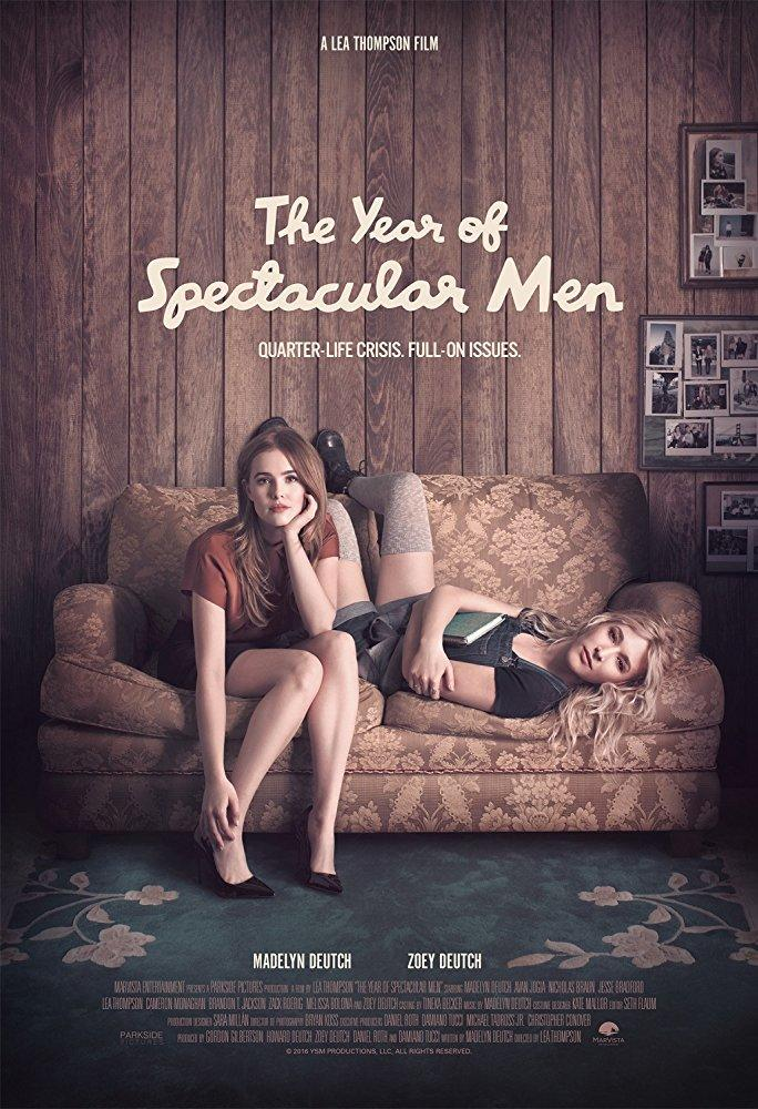 The Year Of Spectacular Men poster art