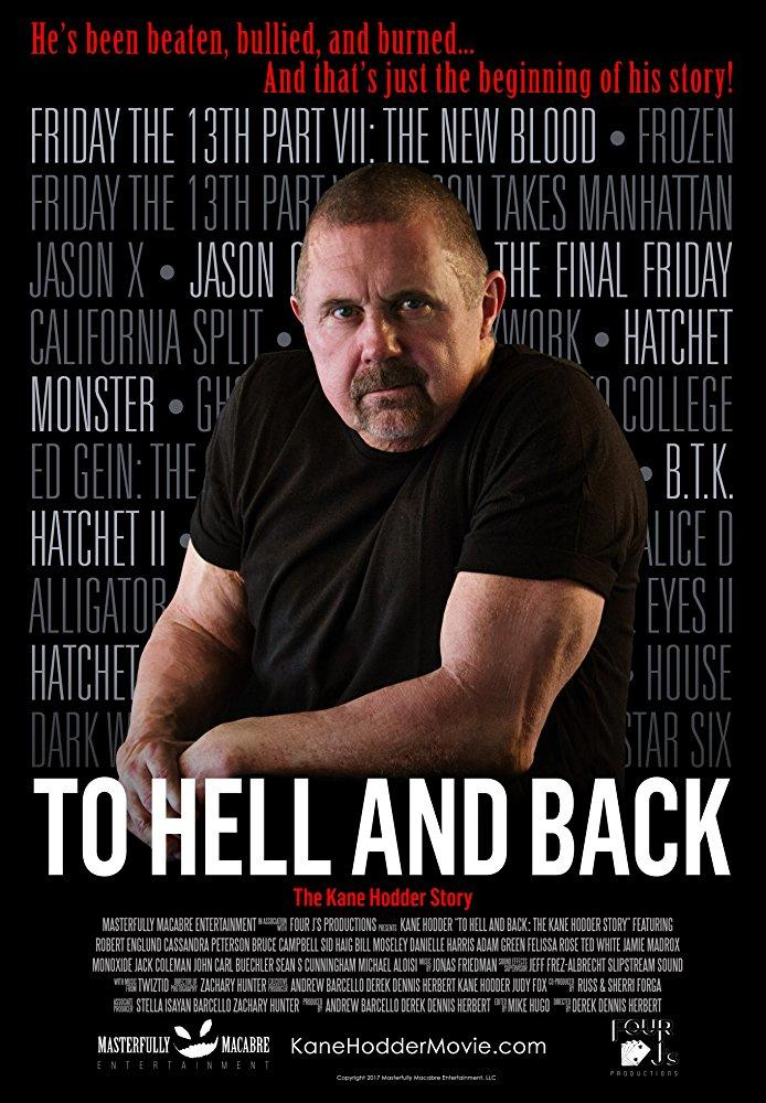 To Hell And Back: The Kane Hodder Story poster art