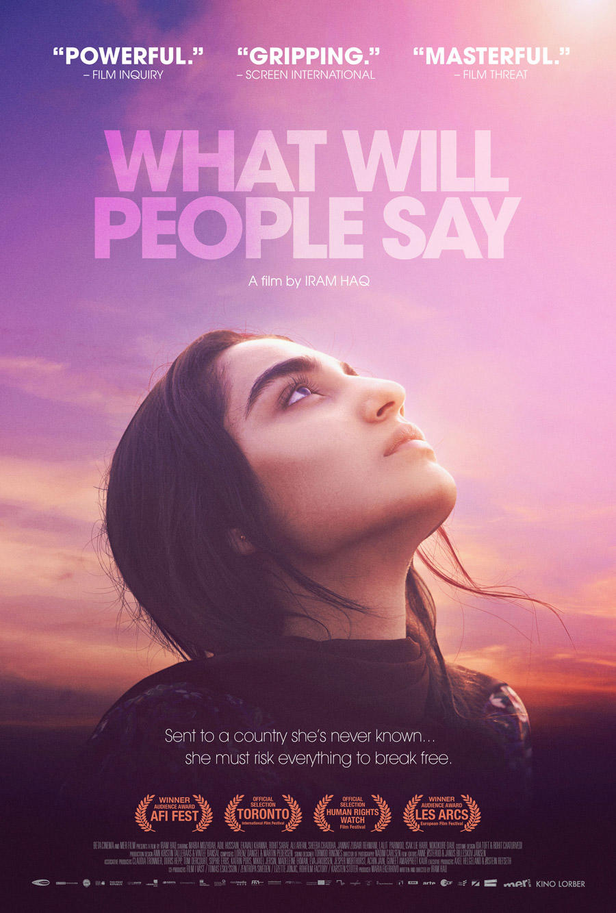 What Will People Say poster art