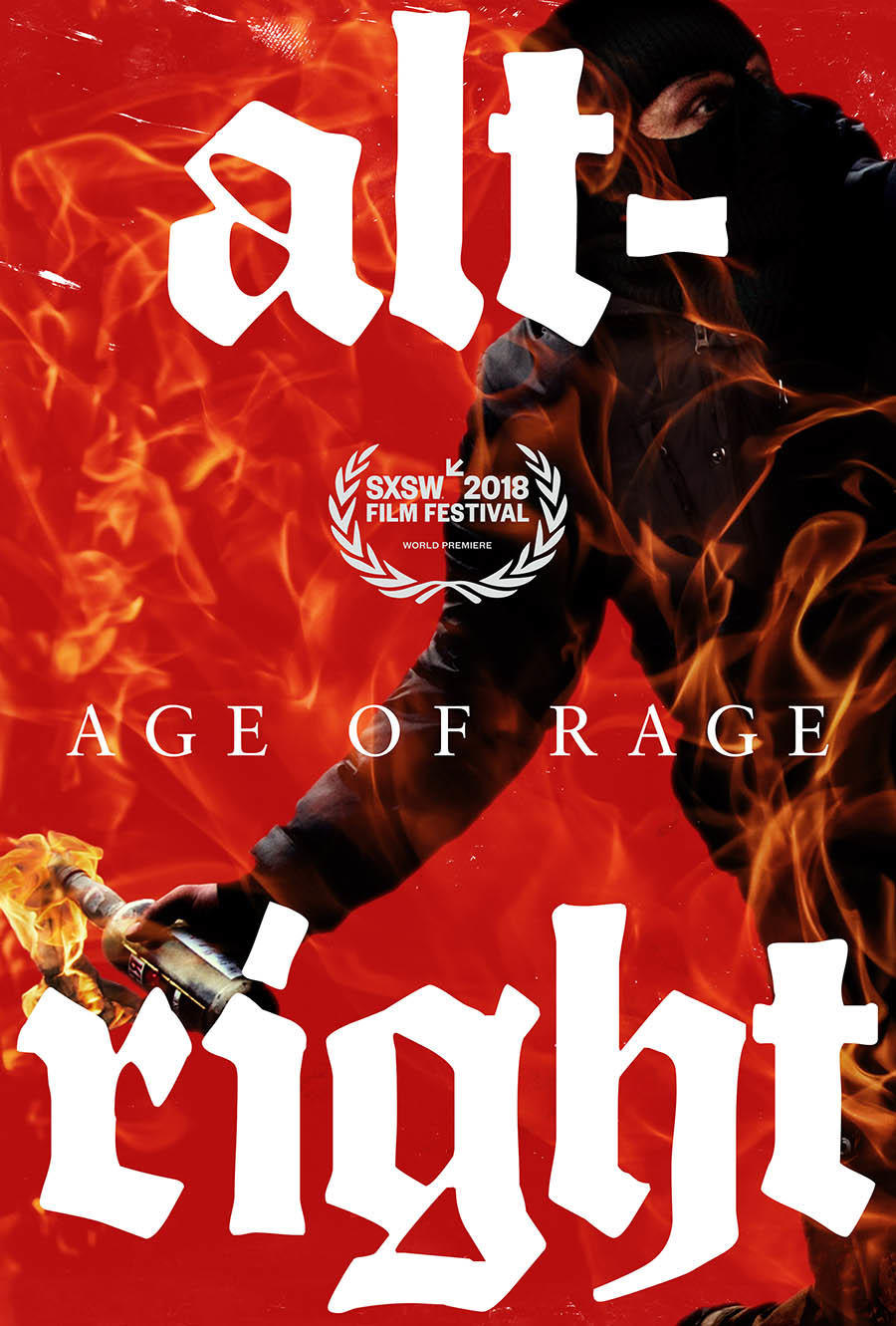 Alt-Right: Age of Rage poster art